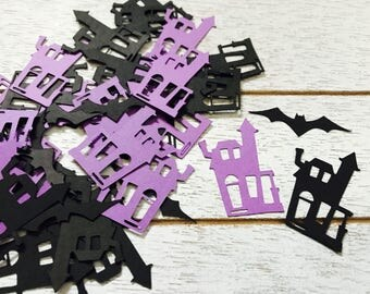 Haunted House Confetti/ Halloween Confetti