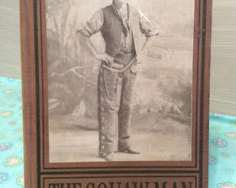The Squaw Man ~ 1906 Antique Book ~ Faversham ~ Grosset & Dunlap