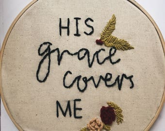 His Grace || embroidery