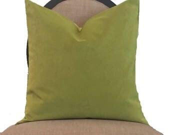 Citrus Velvet Pillow Cover
