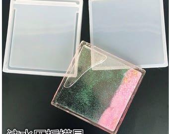 Shaker piece mold,shaker mold,resin molds,mould,mold,uv resin mold,resina uv,square mold