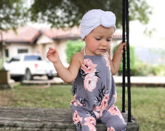Off white, baby turban, knot turban, baby hat