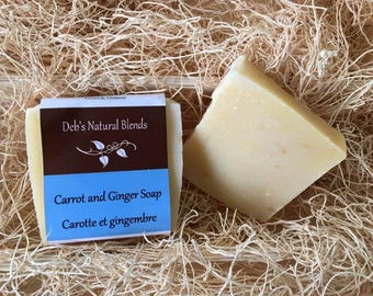 Carrot and Ginger Natural Soap