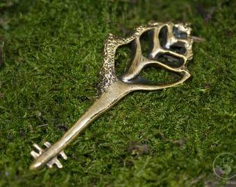 Seashell Key, Bronze, high quality Shell