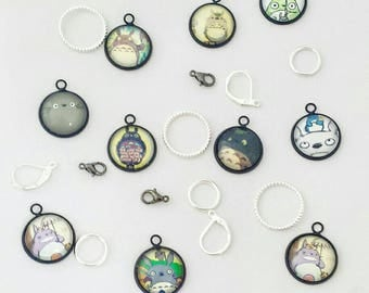 Studio Ghibli Glass Stitch marker set
