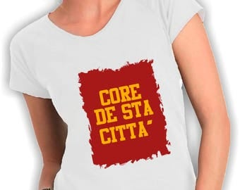 T shirts women's core de Neck city