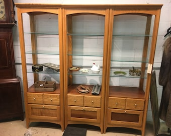 Riverside 3 Piece Wall Unit, Display Unit, Hand Crafted Furniture, Display and Storage