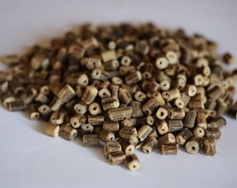 200 Loose Tulsi Beads/ 200 Tulsi beads/ Hindu Tulsi Holy Basil beads/ 200 Tulsi Beads natural