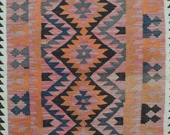 35% OFF Final sale Vintage Afghan maimana kilim 100 Percent wool