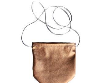 Rose Gold Toddler Bag - Toddler Purse - Baby Purse - Toddler Bag - Toddler Crossbody - Handmade Purse - Toddler Handbag - Rose Gold Bag
