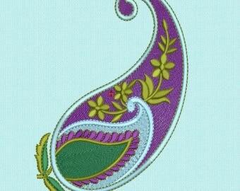 Machine Embroidery Design Mango 2-Sizes ,Mango Embroidery Pattern,Paadar Club Mango Embroidery Design,