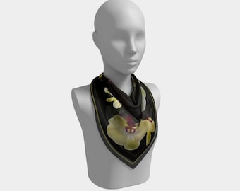 Beulah Orchids Scarf