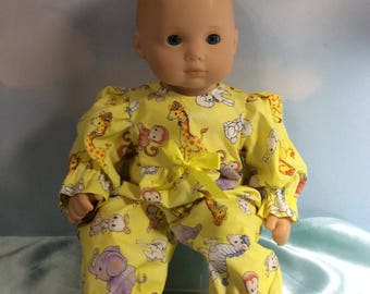 """15"""" Bitty Baby yellow outfit"""