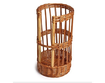 Round Baguette Basket. French stick. Bread display. - SP014