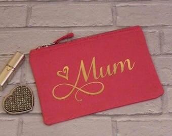 Personalised Make-up Bag, Sister, Mum, Girlfriend, Wife, Friend, Chirstmas, Birthday Gift