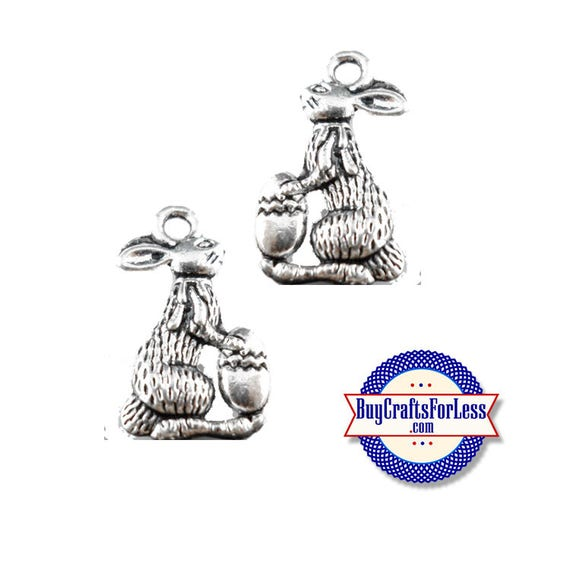 BUNNY Charms, Easter Egg, 6, 12, 24 pcs +FREE ShiPPing & Discounts*