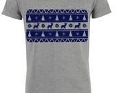 Coordinating T-shirt patt...