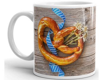 Oktoberfest Mug, Oktoberfest Coffee Mug, Oktoberfest Cup, Oktoberfest Coffee Cup, Oktoberfest Gift, Oktoberfest Gifts, Pretzel Mug