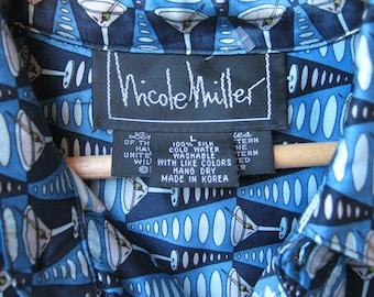 "Nicole Miller Limited Edition 'Martini"" shirt"
