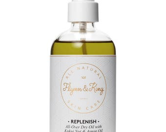 REPLENISH - All-Over Dry Oil with Argan and Kukui Nut Oils