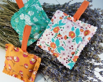 Lavender sachets, Organic lavender sachets, Lavender pillows, Organic dried lavender buds