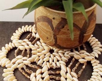 Seashell Trivet/ Beachy/ Tropical/Wall Decor