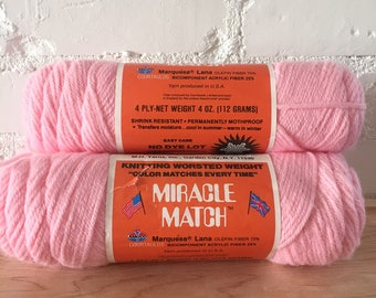 Vintage Miracle Match Yarn - 3 skeins