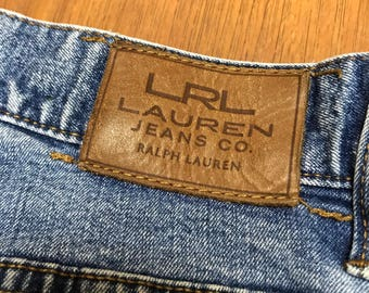 Ralph Lauren Jeans Womens size 8 Classic straight leg fit Great condition light blue wash designer jeans