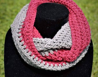Infinity Two-Toned Scarf
