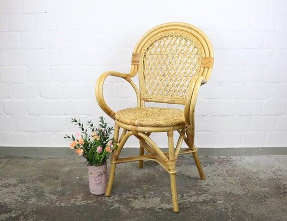 leiht euch diesen vintage Rattan Stuhl für euren großen Tag **Hochzeitsverleih**