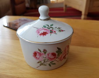 "Vintage James Kent Staffordshire ""Old Foley"" sugar/jam Pot"