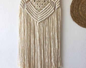 Tapestry Boho macrame Altaïr