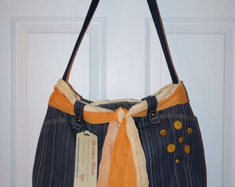 Saoche / bag in denim (Jeans bag)