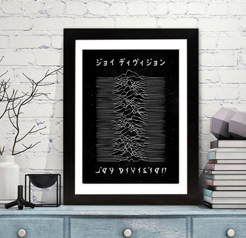 Joy Division Print Music Wall Art Inspired By The Band 39 S