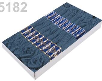 24 docking embroidery thread / Sticktwist #5182 SteelBlue