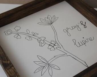 Wild Flowers # 1 grays's lupine
