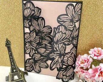 Cosmo Lace Invitation  wallet v2