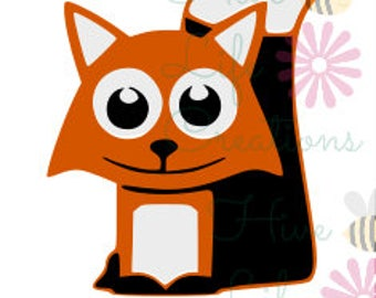 Fox Instant Download * Cute Fox SVG File * Instant Download File * SVG DXF & Png File * Fox You File download * Cute Fox cut download