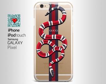 Gucci Red Snake iPhone Case Gucci Iphone 7 Gucci IPhone 6s Case Fashion Iphone case iPhone 7 Plus case Gucci Galaxy S7 Case Samsung S6 YI026