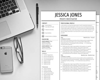 Resume Template Instant Download CV Template Cover Letter Resume CV Resume Template CV Template Professional Resume Free Resume Template cv