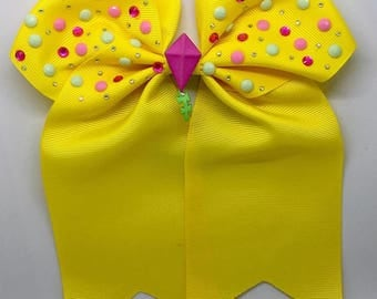 Flying high - Large: 18cm Hair Bow with Elasticated Band