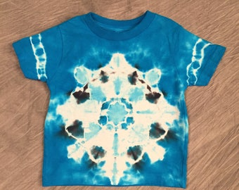 Toddler Tie Dye, Size 3T, Bright toddler shirt, Cute Kids T-Shirt, Kids blue tye dye, Toddler Tye Dye, Toddler Boy T Shirt, RS0717273