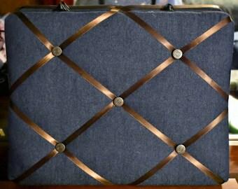 11x14 Blue Jean Memory Board