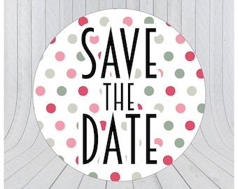 24 Save the date stickers, Engagement stickers, Save the date labels, Envelope seals, Save the Date, Wedding stickers 110