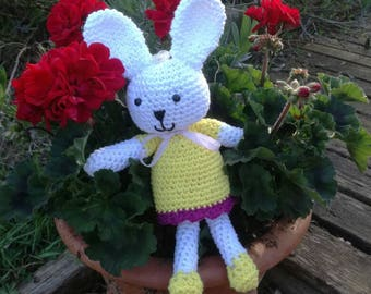 Little white Bunny crochet