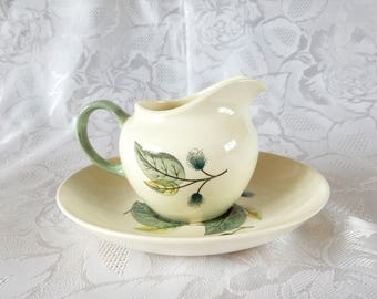 Wedgwood Woodbury Creamer and Saucer