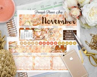 November Monthly Kit! | For Erin Condren