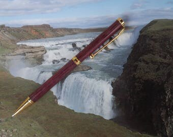 Handmade Purpleheart Ballpoint Pen