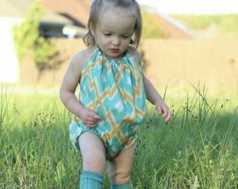 Wild romper, boho dress, boho romper, baby girl boho, Bohemian halter, kids boho dress, boho romper