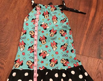 Minnie mouse Pillowcase Romper or dress
